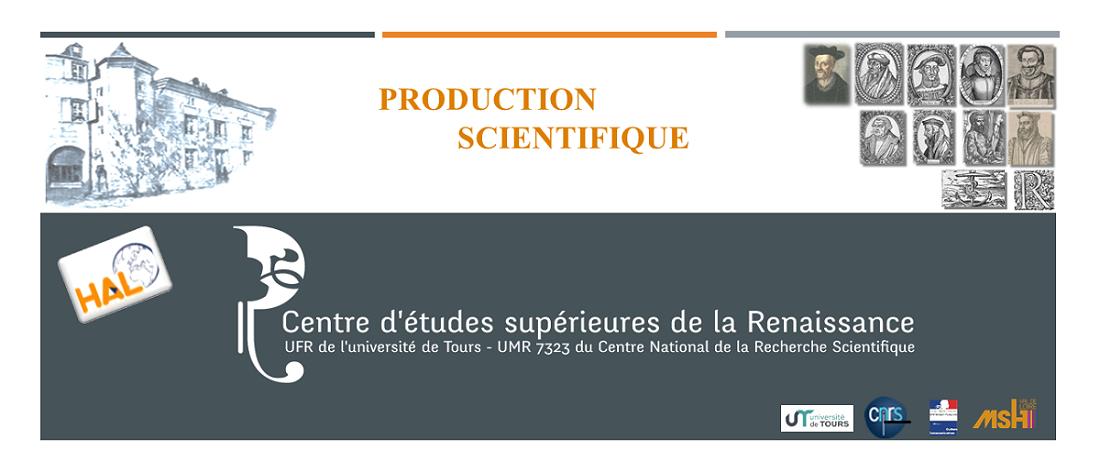 Centre Detudes Supérieures De La Renaissance Les Caractères De